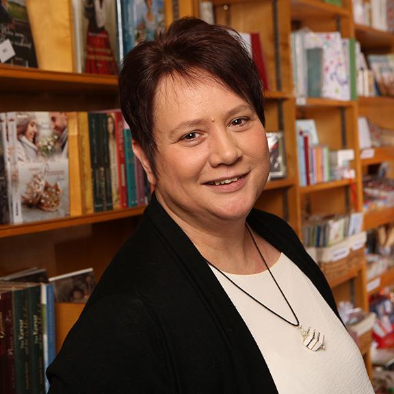Claudia Sommermann - Geschäftsführerin der Buchhandlung Christothek Bayreuth